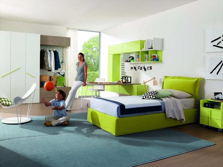 Teenage bedroom Z234 | Kids' bedroom - Zalf