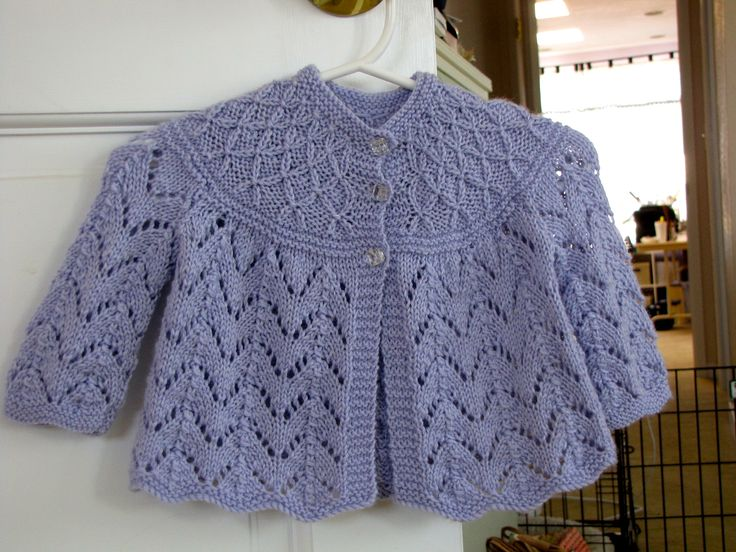 Vintage knit baby