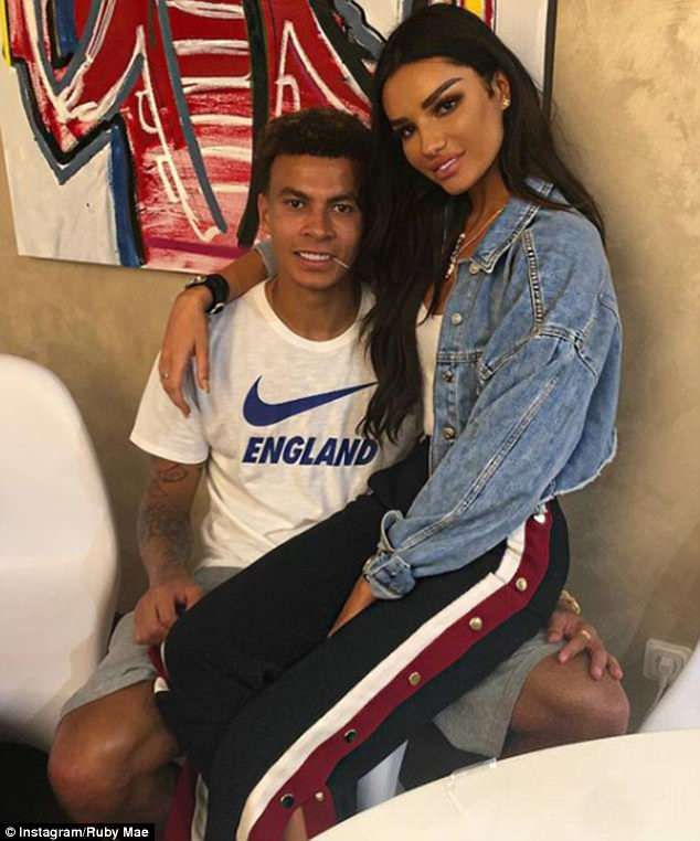 How England Players Are Enjoying Their Downtime Ahead With The Wags Ruby Mae Dele Alli England Players
