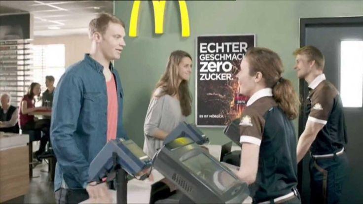 Coca Cola Coke Zero und Mc Donalds Werbung 2012 mit Manuel Neuer