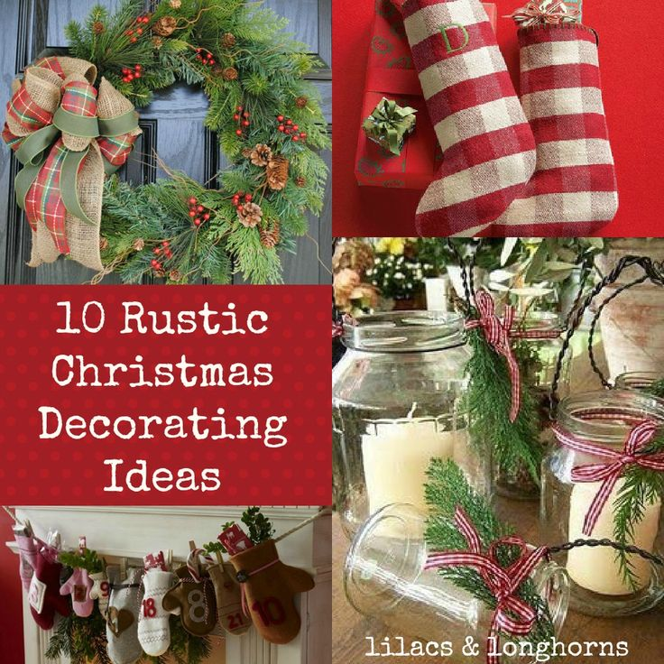 Exceptional Rustic Christmas Tree Decorating Ideas | Rustic Christmas Decorating Ideas Design