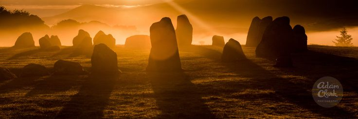 Misty Landscape Nature Panorama Photography. Castlerigg Stone Circle. Lake District, England. Fine Art Photo Print by AdamClarkPhotography on Etsy https://www.etsy.com/uk/listing/248731444/misty-landscape-nature-panorama