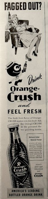 Fagged out? Orange Crush. Happy Pride month. Celebrate with Crush and REM.