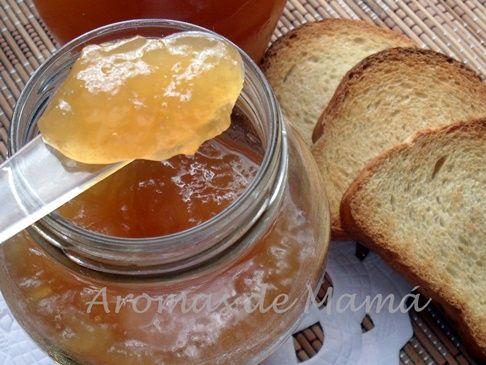 MERMELADA DE PERAS ~ Aromas de Mamá   Recetas de Cocina   aromasdemama.com