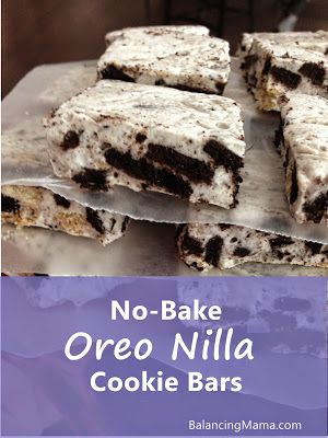 We always run out of these quickly! A huge hit and so easy to make. No-bake dessert: OREO NILLA COOKIE BARS!