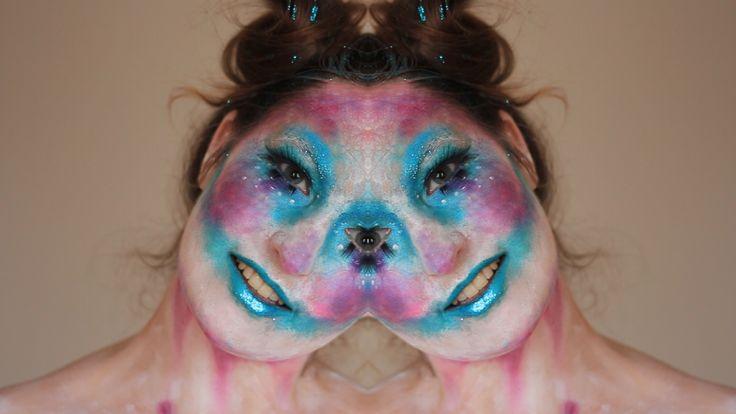Halloween makeup, crazy clown, makeup tutorial, scary and horror look, idea