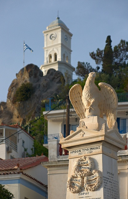 A Composition with Eagle, Poros, Greece by Dmitry Shakin, via Flickr