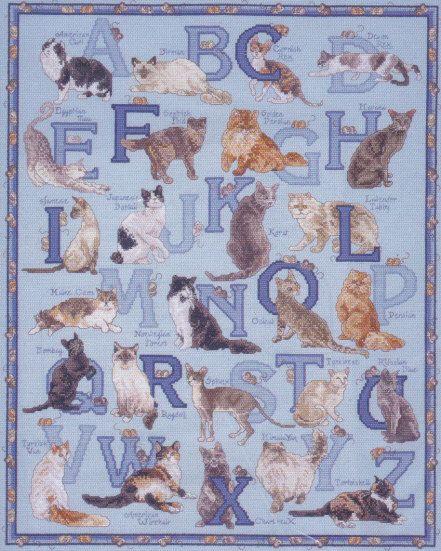 """Janlynn """"Cats Alphabet"""""""