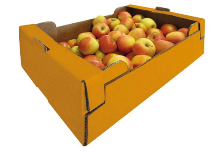 #Handsteige für Obst • Hohe #Stapelfähigkeit auch bei hohem Gewicht • Höhere Stabilität bei reduziertem Volumen – erhöht die Stückzahl von #Verpackungen pro Palette • Migrationsunbedenklich • twin secure Materialqualität • #T4P, #Lebensmittelverpackung