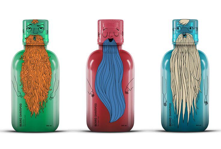 Elizabeth Kopay-Gora - Beard Shampoo (project) — World Packaging Design Society│Home of Packaging Design│Branding│Brand Design│CPG Design│FMCG Design