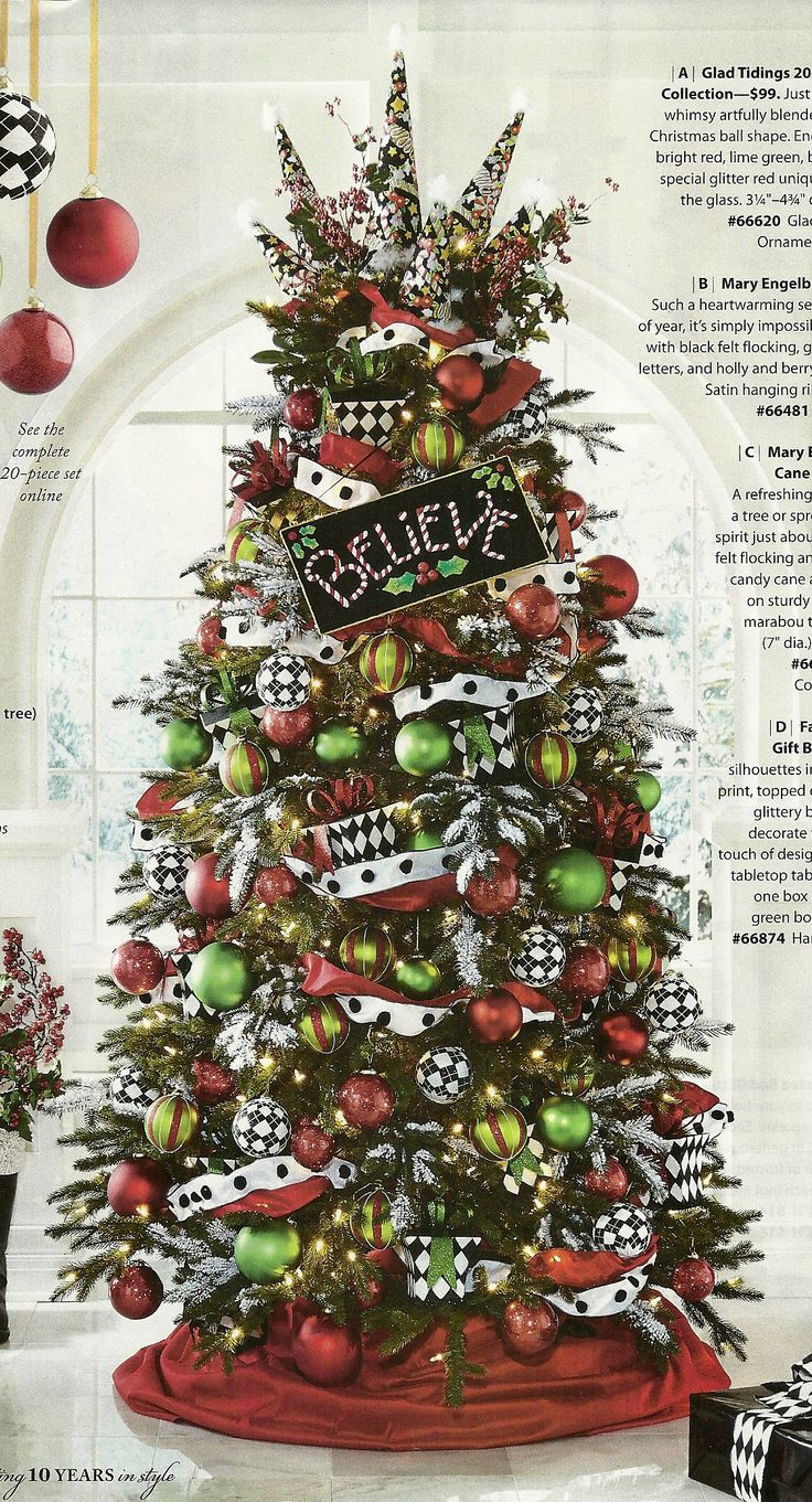Christmas Tree Ball Colors : Best christmas trees images on