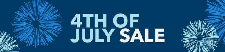 Happy Birthday America  It's Independence Day  4th of July Sale 2017