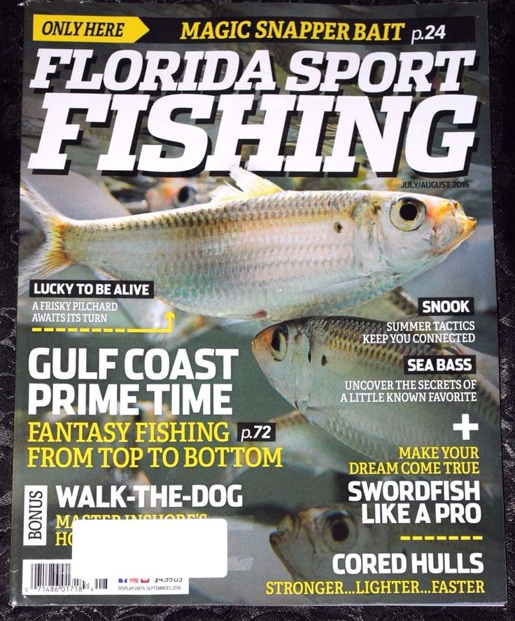 Florida Sport Fishing Magazine  July/August 2016