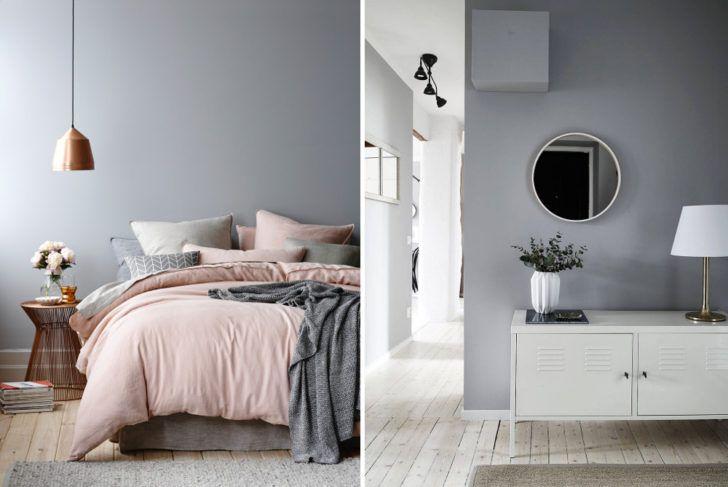 Dos ambientes en gris suave