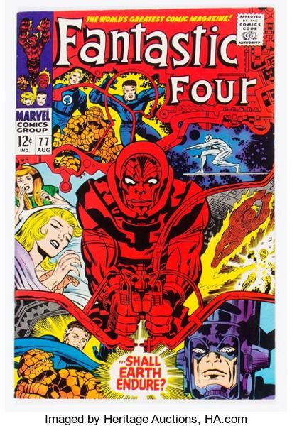 Silver Age (1956-1969):Superhero, Fantastic Four #77 (Marvel, 1968) Condition: VF/NM....