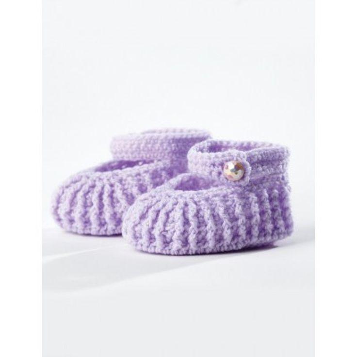 Mejores 67 imágenes de Baby Booties Crochet Patterns en Pinterest ...