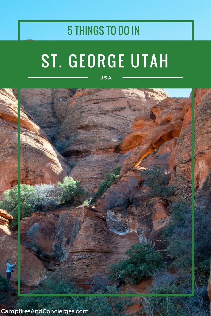 Things to do in St. George, Utah, USA | Southern Utah Hiking | Zion National Park | Bryce Canyon National Park | Red Mountain Resort #utah #stgeorge