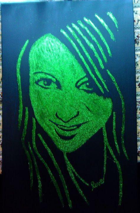 Glitter paint..