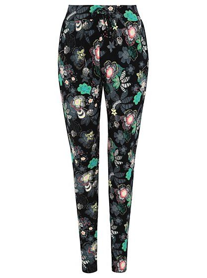 Floral Printed Trousers, read reviews and buy online at George at ASDA. Shop from our latest range in Women. Blossom in the evening in a pair of these gorgeo...