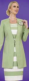 Clearance Ben Marc Executive 11413 Ladies Dress Suit With Long Jacket