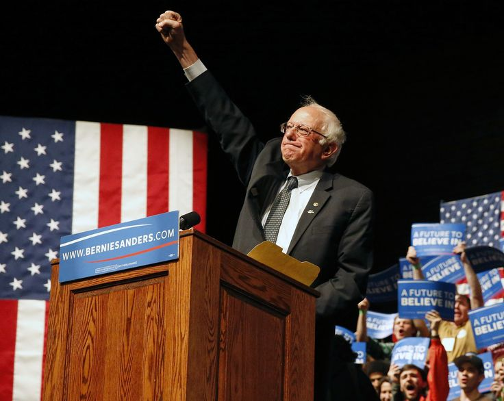 Sanders won the Democratic presidential primary in Wisconsin Tuesday.  Sen. Bernie Sanders is on a roll.  Sanders was projected the winner in the Wisconsin's Democratic presidential primary on Tuesday night.