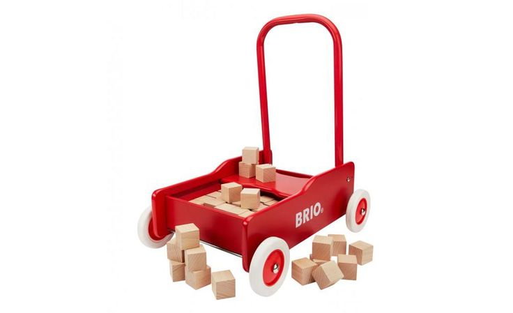 Toddler Wobbler with 50 Pc Block Set BRIO