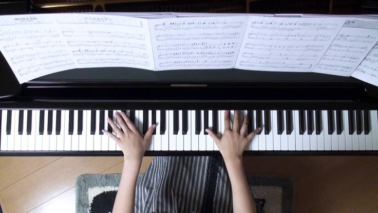 アシタカとサン ピアノ スタジオジブリ『もののけ姫』より