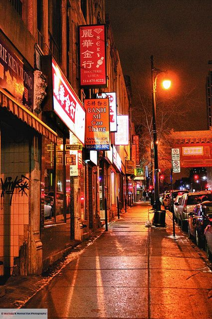 Chinatown, Montreal, Quebec, Canada