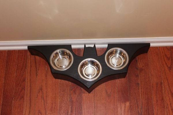 Batman Cat Food Dish - Neatorama