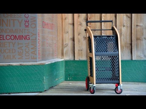 (7) 2Roll Personal Shopping Cart - YouTube