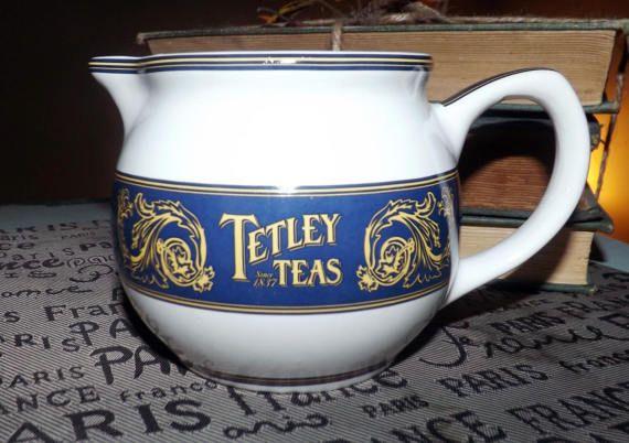 Vintage (c.1980s) Tetley Teas Collector's Edition creamer or milk jug.