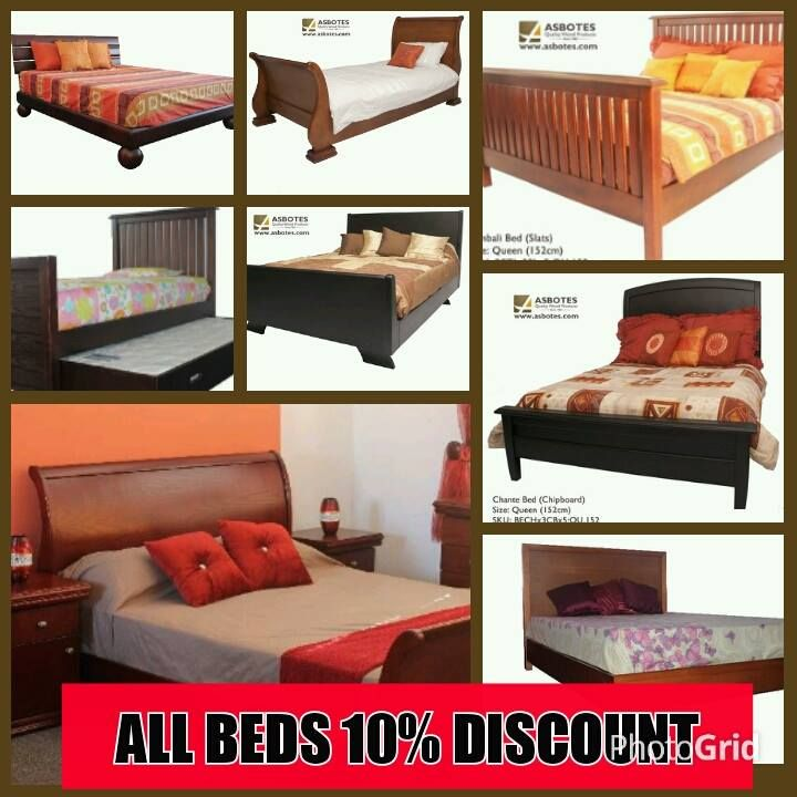All Beds 10% discount till end of June. www.asbotes.com 021 591 0737