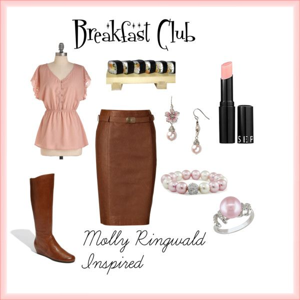 Breakfast Club, Molly Ringwald Inspired, created by danielle-krenn