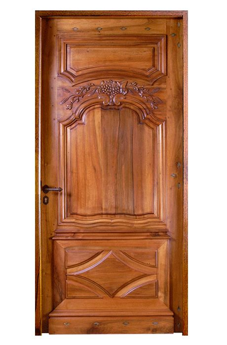 17 best images about portes d 39 entr e de style on pinterest for Porte bois exterieur renover