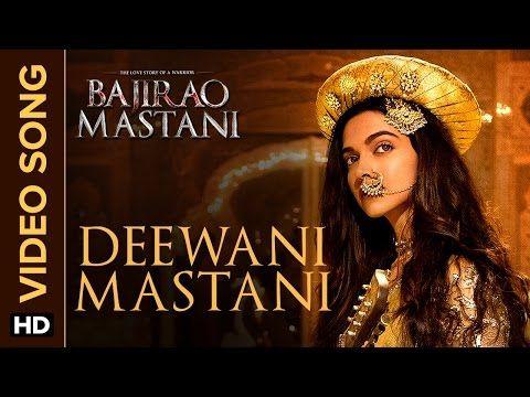 Deewani Mastani | EXCLUSIVE Video Song | Bajirao Mastani | Deepika Padukone, Ranveer Singh, Priyanka - YouTube