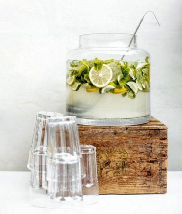 25 kreative Drink Station Ideen für Ihre Party