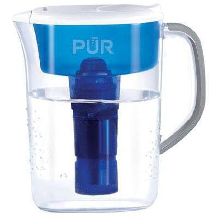 Honeywell PUR Water Pitcher and Filter, Clear (Metal)