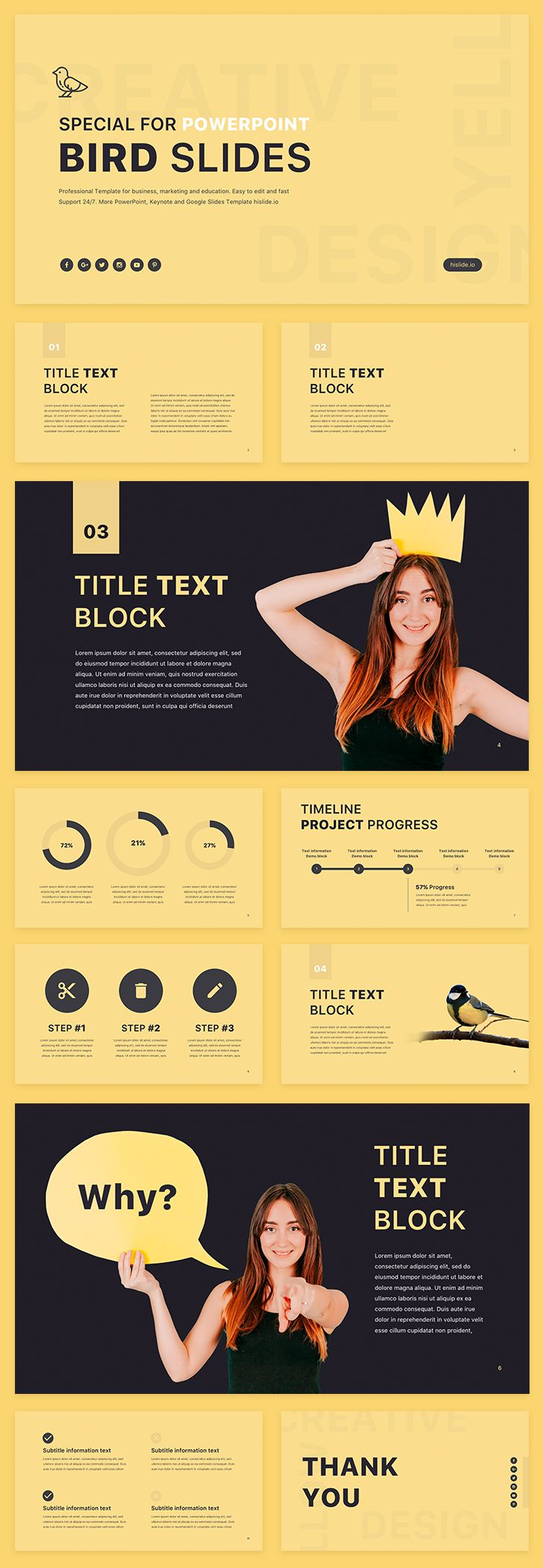 40 best FREE PowerPoint Template images on Pinterest | Masters, Blau ...