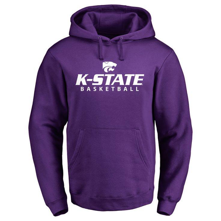 Kansas State Wildcats Kansas State Basketball Pullover Hoodie - Purple