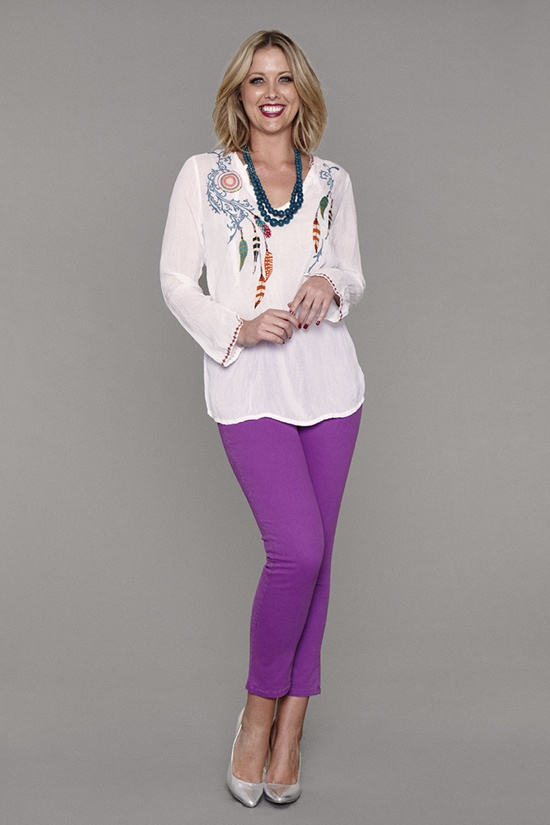 NYDJ coloured jeans - I so want to give this a try