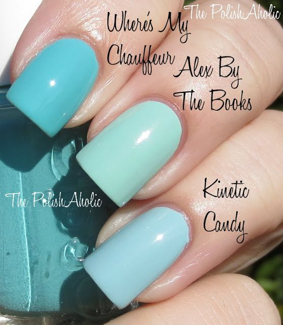 Tiffany Blue Gel Nail Polish: 17 Best Images About 1) Nails