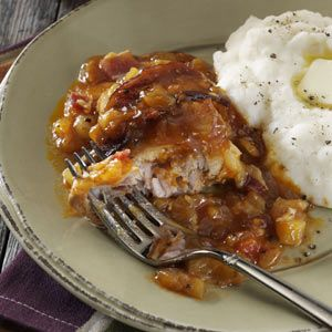 Slow Cooker Hula Chicken Recipe from Taste of Home -- shared by Cindy Lund of Valley Center, California