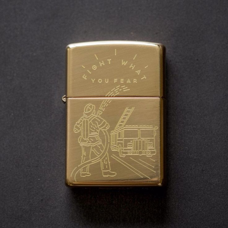 The Brave and the Bold What better way to honor the brave and bold firefighters than with a custom Zippo lighter? This is a special collaboration with Vincent A