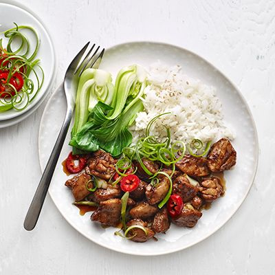 Shanghai-style Chicken | A speedy supper inspired by Chinese specialty Hong sham rou (Shanghai-style braised pork belly).