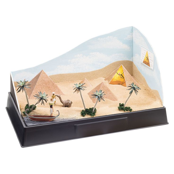 The Pyramids are an important part of Egyptian history and are still standing today. Theme Kits are great for fast and easy last minute projects that are fun to make. This one is great for an Ancient Egyptian history project.
