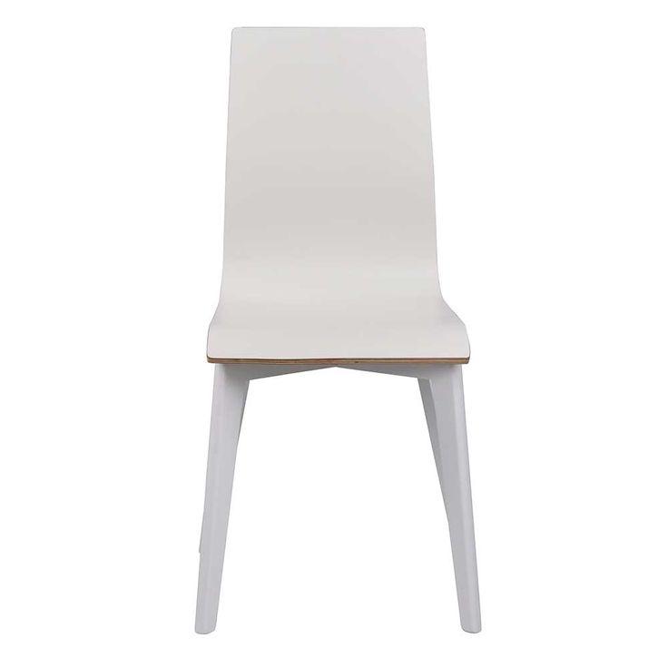 Fancy Esszimmerstuhl Set in Wei Holzbeine massiv er Set Jetzt bestellen unter