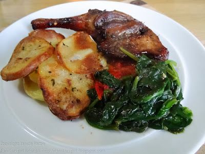 OCTOBER Farmersgirl Kitchen: Duck Legs with 'Bramble' Gin and Duck Fat Potatoes - Dish of the Month