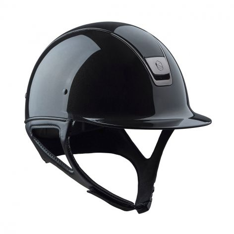 Samshield Shadowglossy Horse Riding Hat in Metallic Black - Page 3