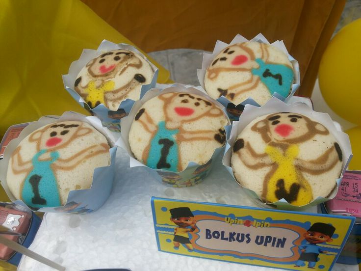 15 best upin ipin party images on pinterest fiesta party party bolu kukus gundul karakter upin ipin stopboris Image collections