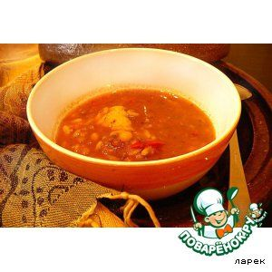"Марокканский суп ""Харера"""